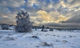 Pianura della montagna Fotografia Stock