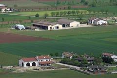 Pianura padana i Italien Royaltyfria Foton