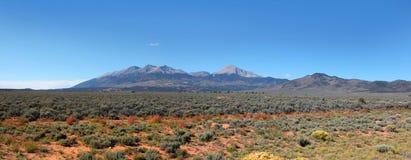 Pianure del Colorado Fotografie Stock Libere da Diritti