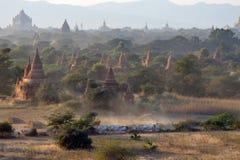 Pianure di Bagan Fotografia Stock Libera da Diritti