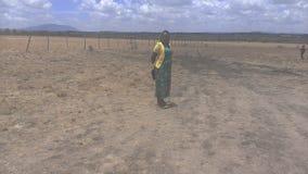 Pianure Kenya di Lukenya fotografie stock libere da diritti