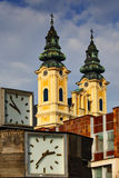 Piarist Church in Nitra Stock Photo