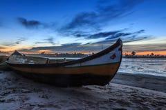 Piasek łódź Fotografia Stock