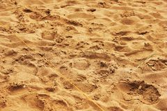 Piasek, arkana i trawy tekstura, zdjęcia stock
