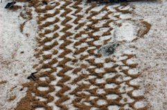 piasek bieżnika. Zdjęcie Royalty Free