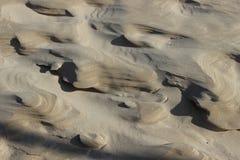 Piasek czochr plaży pustyni tło horyzontalny zdjęcia royalty free