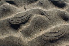 Piasek czochry plaża Obrazy Stock