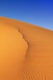 Piasek diun Maroko pustynia Obrazy Royalty Free