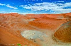 Piasek diun Namib-Naukluft park narodowy, Namibia Zdjęcie Stock