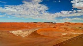 Piasek diun Namib-Naukluft park narodowy, Namibia Obraz Stock