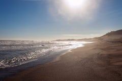 Piasek diun park narodowy obrazy royalty free