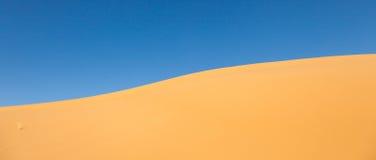 Piasek diun szczegółu Maroko pustynia Fotografia Stock