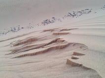 piasek diuna w KSA zdjęcie stock