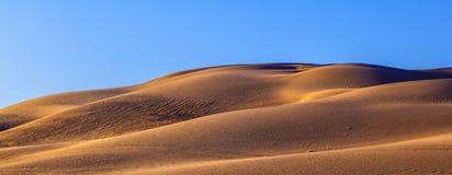 Piasek diuny w pustyni Zdjęcie Royalty Free