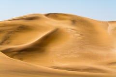 Piasek diuny w regionie swakopmund Zdjęcie Royalty Free