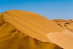 Piasek diuny w regionie swakopmund Fotografia Royalty Free