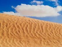 Piasek diuny w saharze blisko Douz Tunezja Afryka Zdjęcie Royalty Free