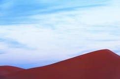 Piasek diuny w saharze, Maroko Fotografia Stock