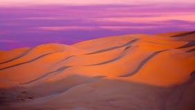 Piasek diuny w saharze w Maroko, Afryka Obrazy Stock