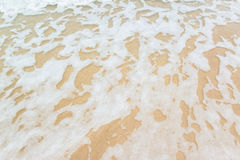 Piasek fala i plaża Zdjęcie Stock