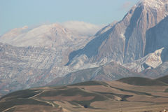 Piasek góry zdjęcia royalty free