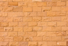Piasek kamienna ściana Fotografia Royalty Free