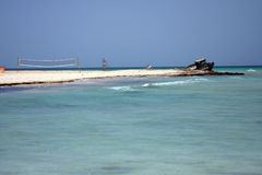 piasek na plaży Zdjęcie Stock