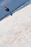 piasek na plaży Fotografia Royalty Free