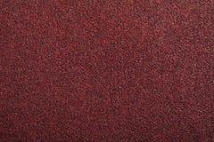 piasek papierowa czerwona tekstura Zdjęcie Royalty Free