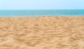 Piasek plaża zdjęcia stock