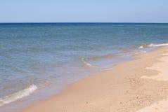 Piasek plaża na słonecznym dniu Zdjęcie Royalty Free