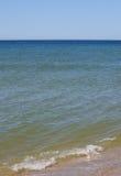 Piasek plaża na słonecznym dniu Obrazy Royalty Free