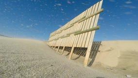 Piasek plaża w Paramos, diuny i, - zdjęcie wideo