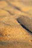 Piasek plaży szczegół Obrazy Royalty Free