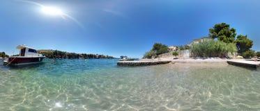 Piasek plaża Fotografia Stock