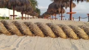 Piasek plaża Fotografia Royalty Free