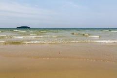 Piasek plaża Zdjęcie Stock