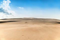 Piasek pustynia Zdjęcia Stock
