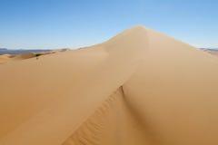 Piasek pustynna diuna Zdjęcia Stock