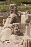 Piasek rzeźby Obraz Royalty Free