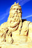 piasek rzeźba Obrazy Royalty Free