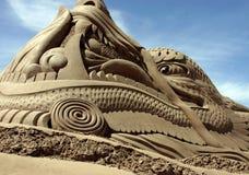 piasek rzeźba Obraz Stock