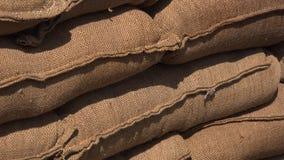 Piasek torby umieszczać na górze each inny dla ochrony 4K zbiory