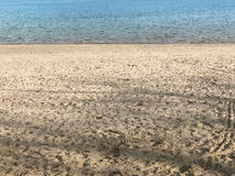 piasek wody Obraz Stock