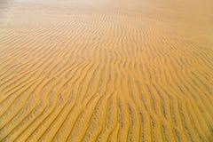 Piasek wydmowa pustynia Fotografia Royalty Free