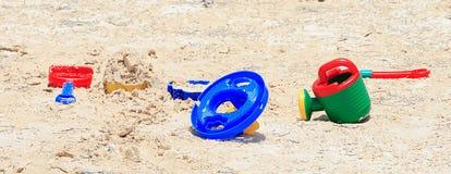 piasek zabawki Obrazy Stock