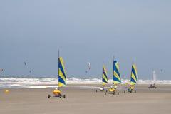 piasków jachty Fotografia Royalty Free