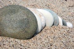 piasków kamienie Zdjęcia Stock