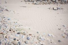 piasków kamienie Fotografia Royalty Free