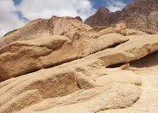 Piasków wzgórza w pustyni Fotografia Royalty Free